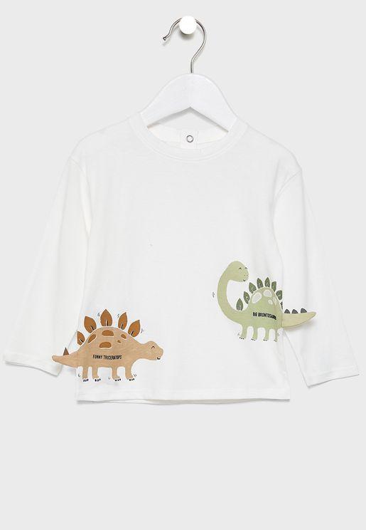 تيشيرت بطبعات ديناصور