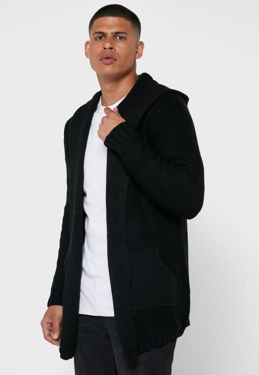 Essential Hooded Cardigan