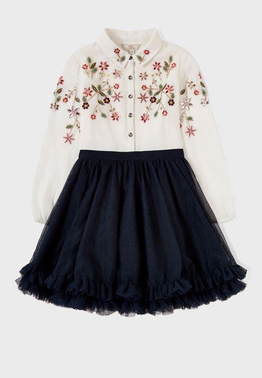 Teen Polly Paloma Dress