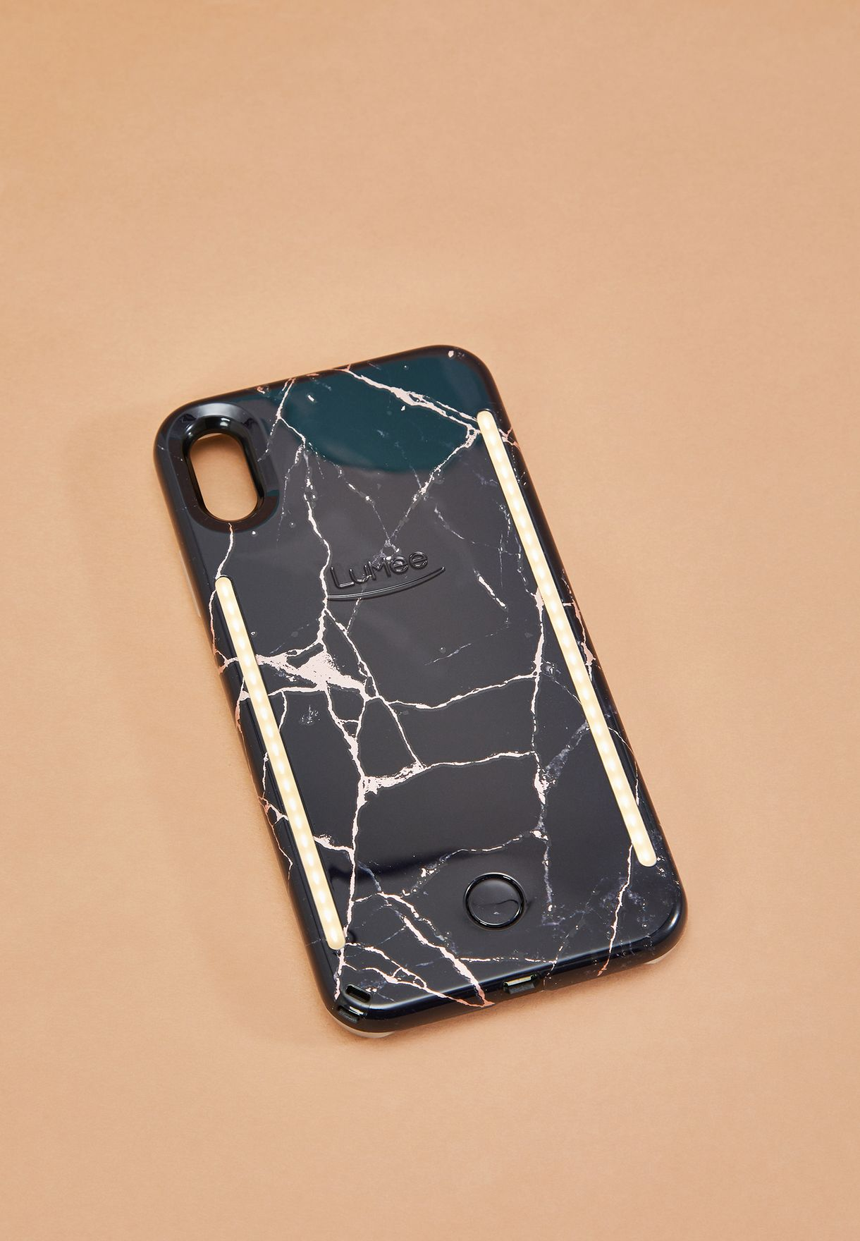 the latest d411e 90a1c DUO iPhone XS Max Metallic Rose Black Marble