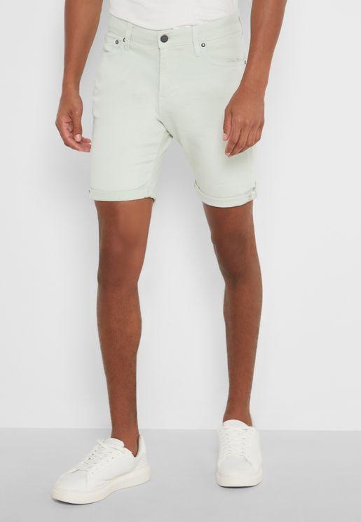 Rick Roll Hem Shorts