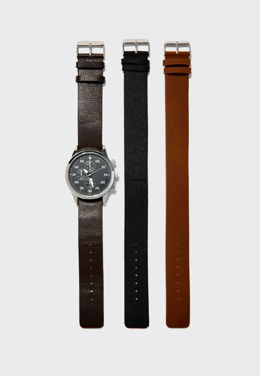 Heze Analog Watch