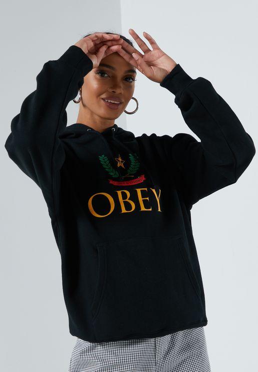 Obbedire Hoodie