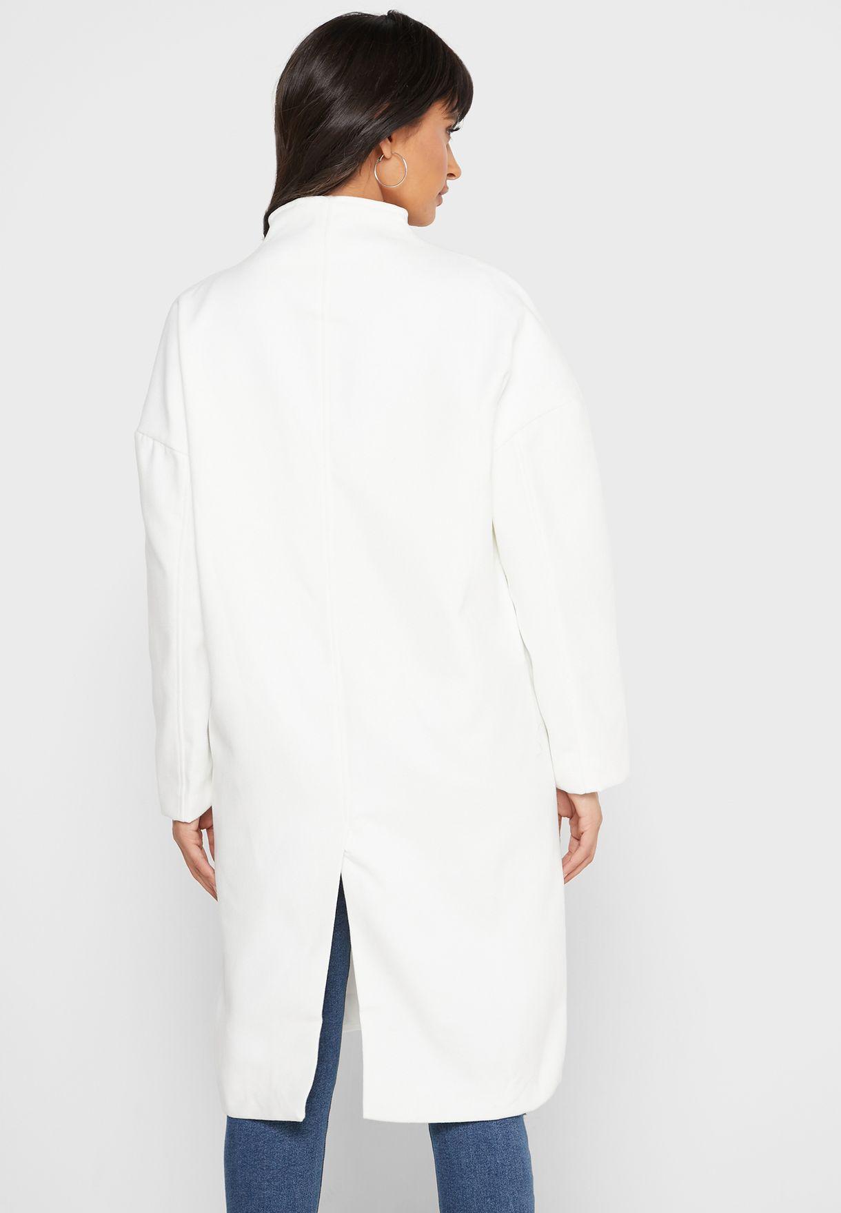 معطف بزر واحد