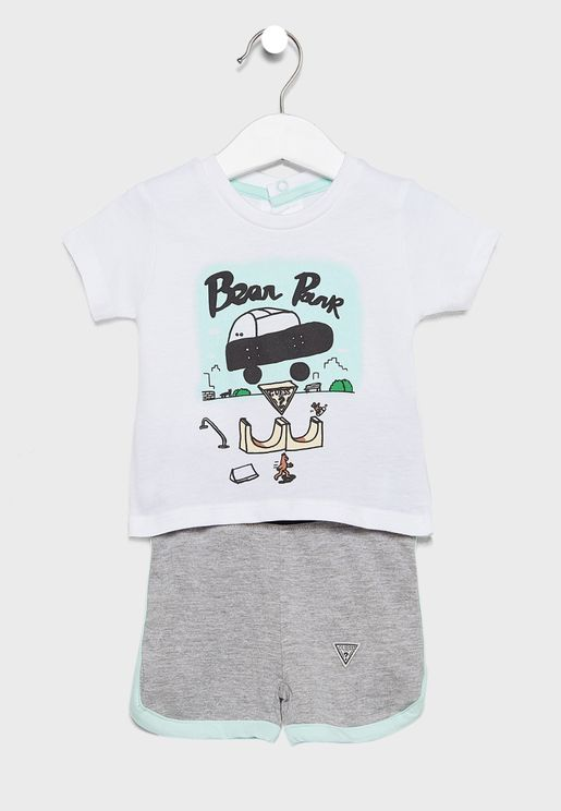 Infant T-Shirt + Short Set