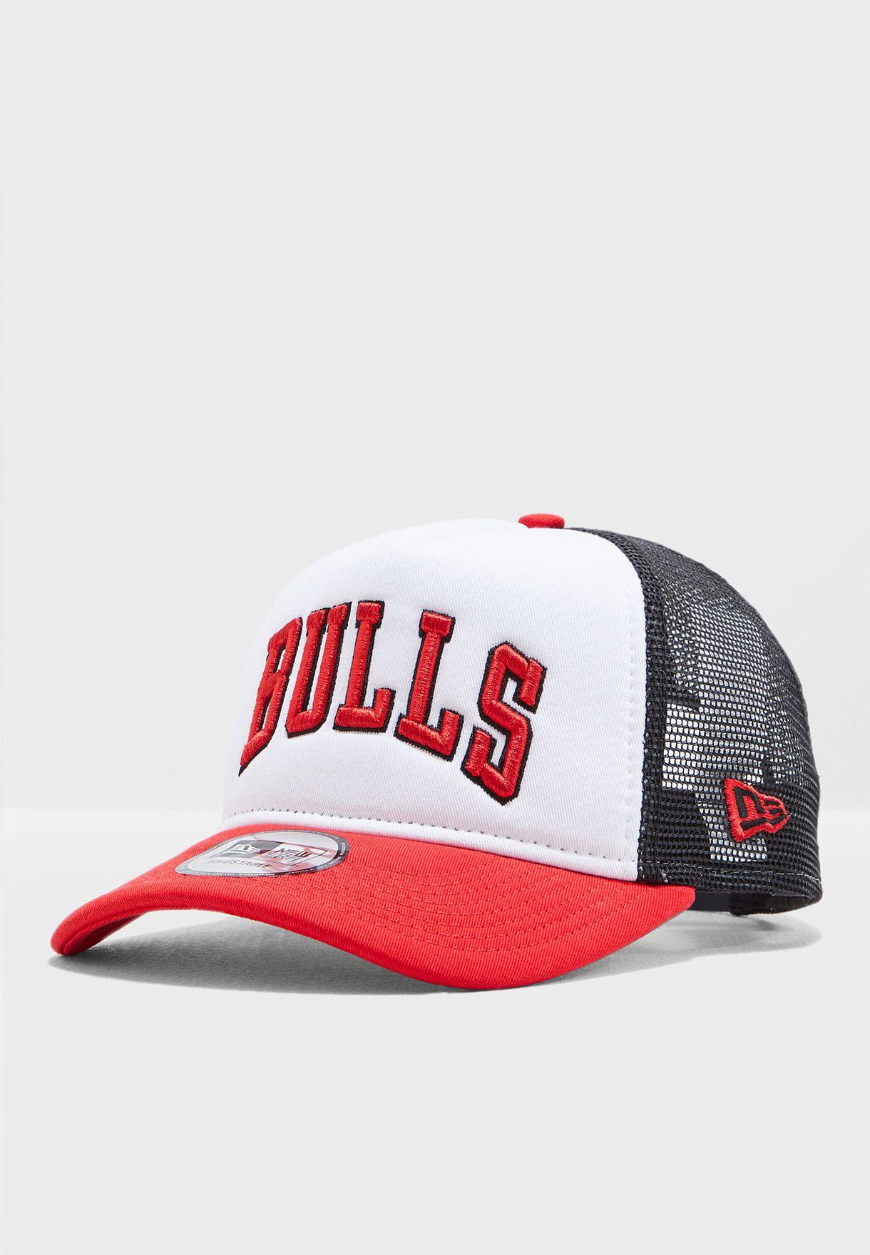 4a0375400f1 Shop New Era multicolor 9Forty Chicago Bulls Trucker Cap 11871270 ...