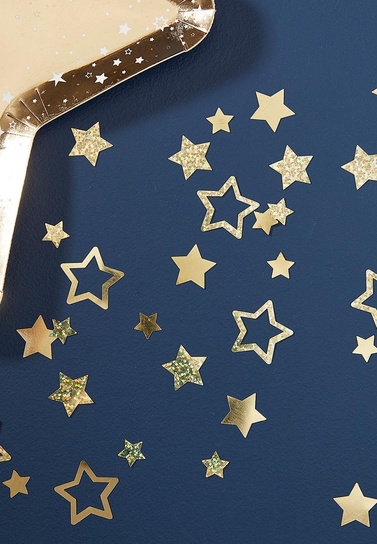 اشكال نجوم براقة