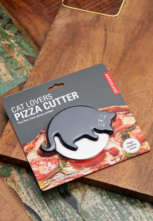 قطاعة بيتزا شكل قطة