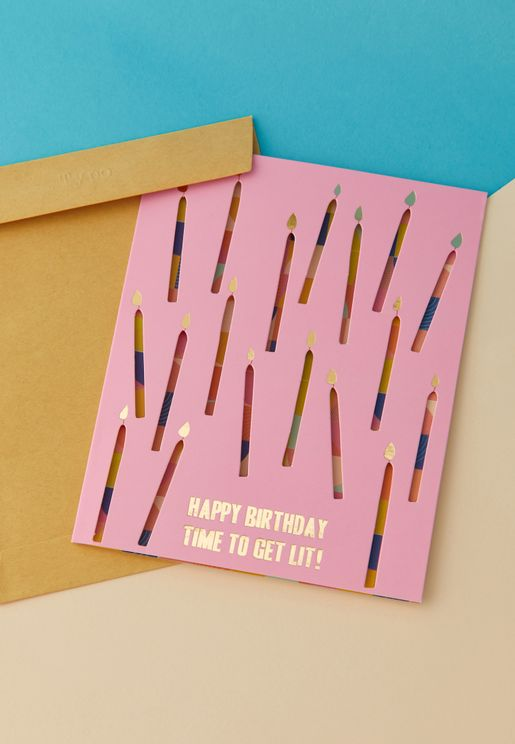 Premium Funny Birthday Card