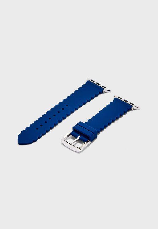 Scallop Silicone Apple Watch Strap