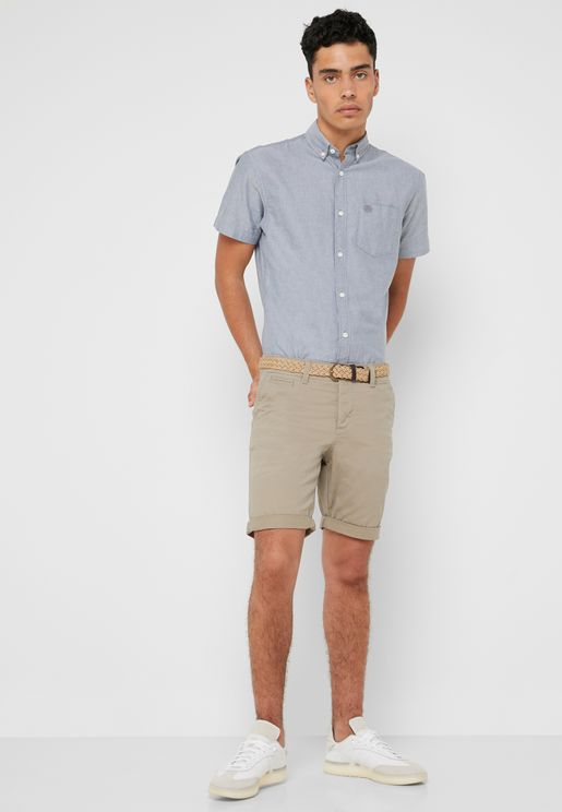 Ricko Belted Shorts