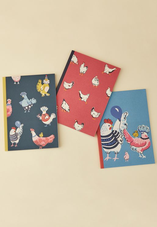 3 Pack Hen Party Notebook