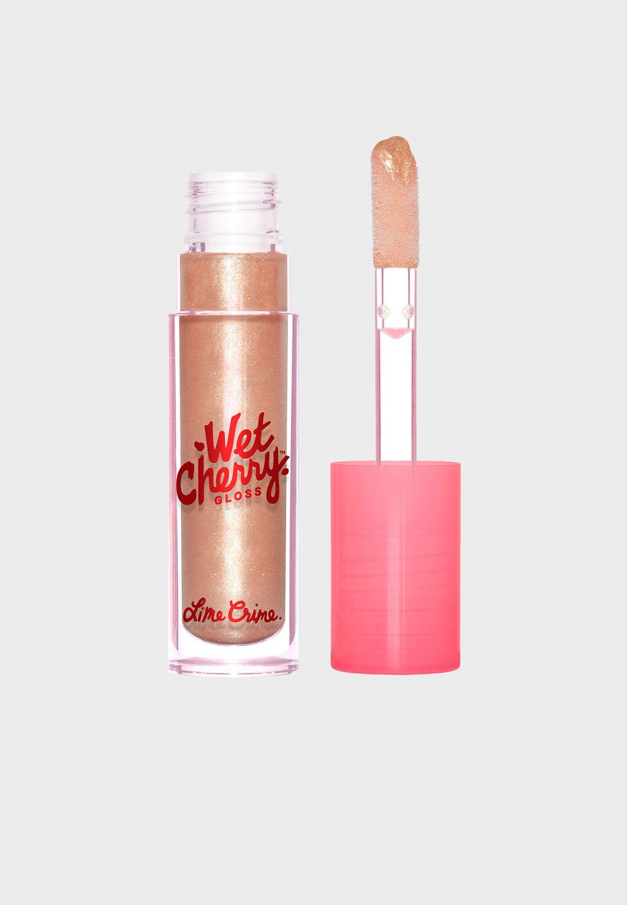 Wet Cherry Lip Gloss - Sparkling Cherry
