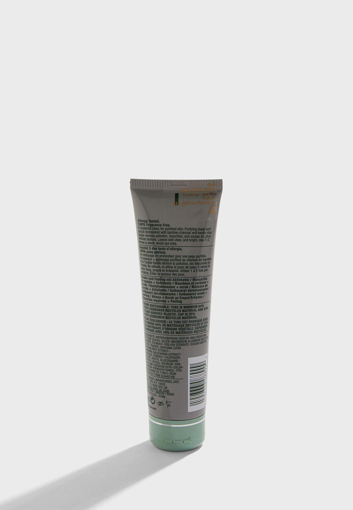Anti-Pollution Charcoal Mask + Scrub 100ml