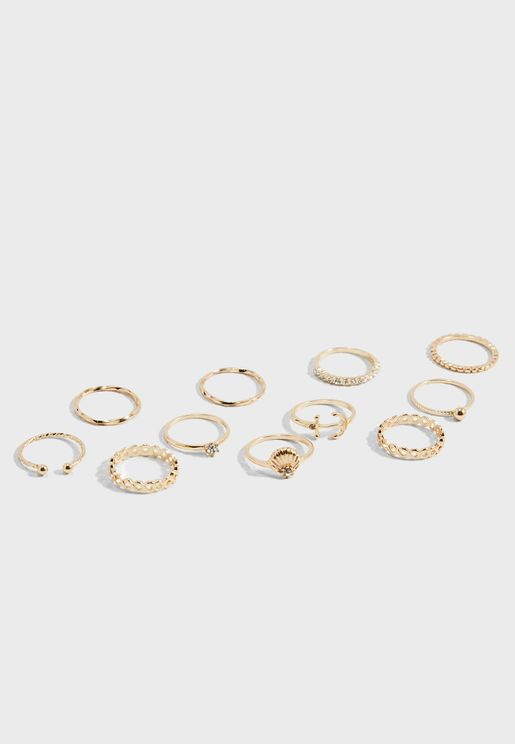 Nautical Rings Set
