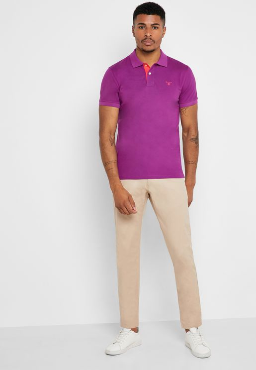 Summer Slim Fit Chinos