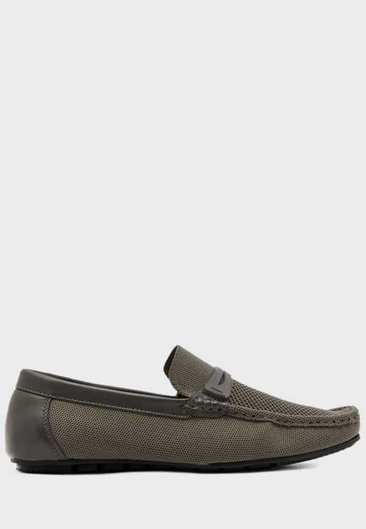 Comfort Knitted Driver Moccasins
