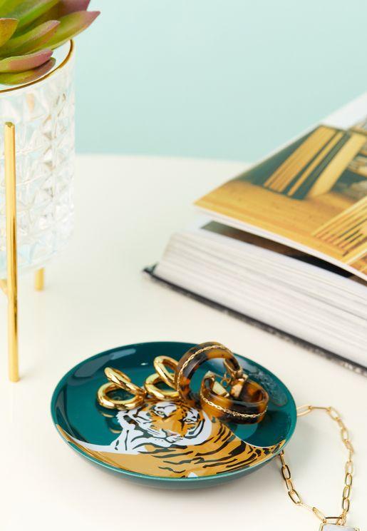 Toucan Ceramic Trinket Tray