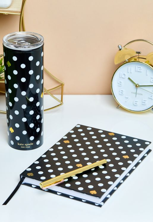 Black Spade Dot To Do Undated Planner