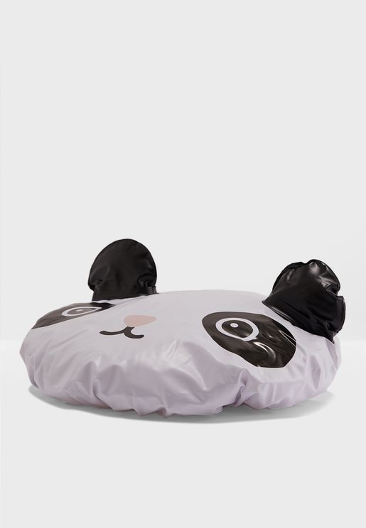 Panda Shower Cap