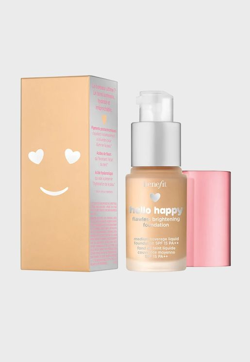 Hello Happy Flawless Brightening Mini Foundation -03