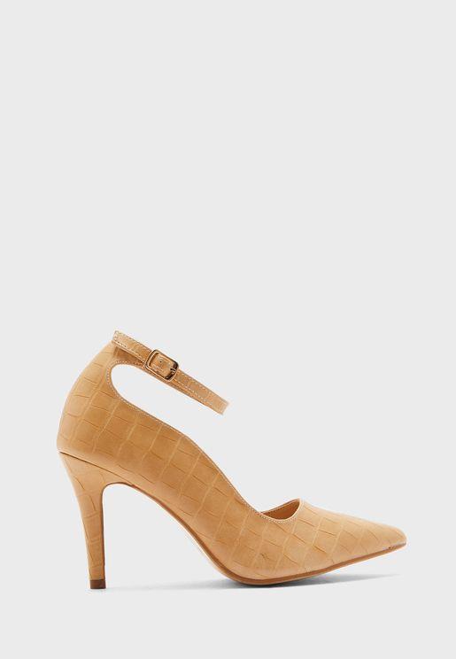 حذاء جلد حيوان