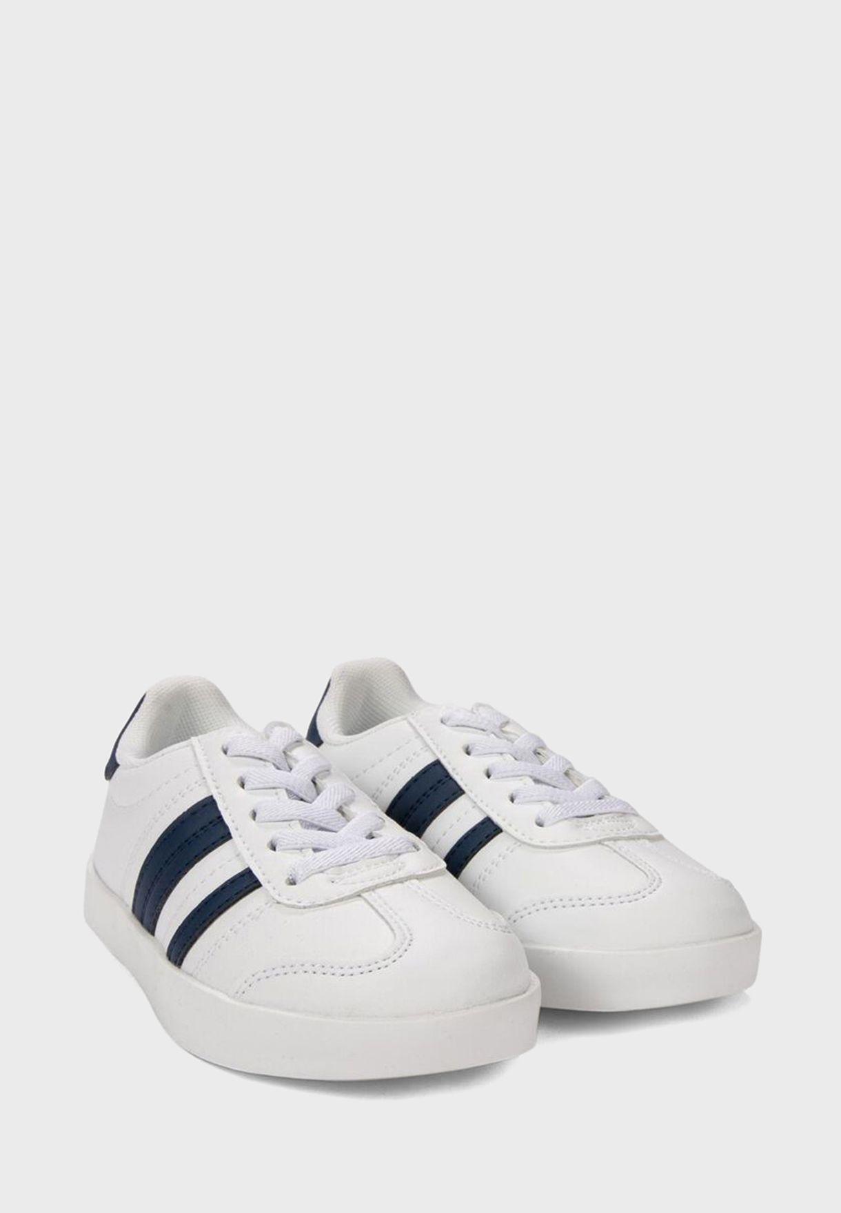 Kids Stripe Detail Sneaker