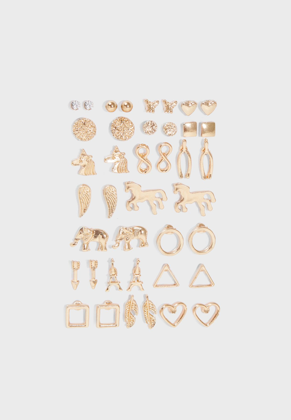 Multipack Stud Earrings Set