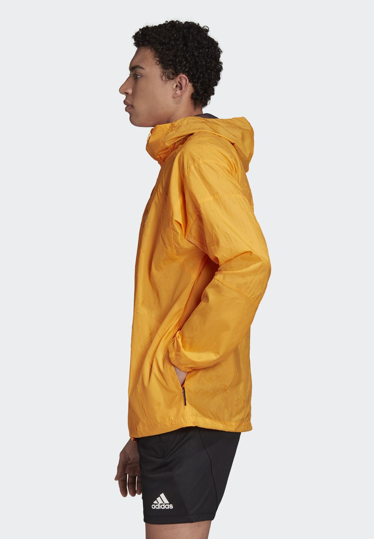 Logo Wind Hooded Jacket