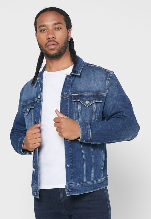 Foundation Slim Fit Denim Jacket