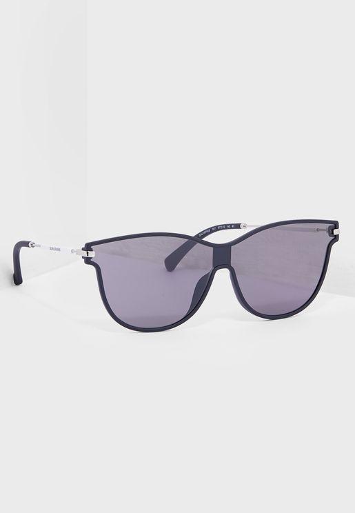 CKJ18702S Butterfly Sunglasses