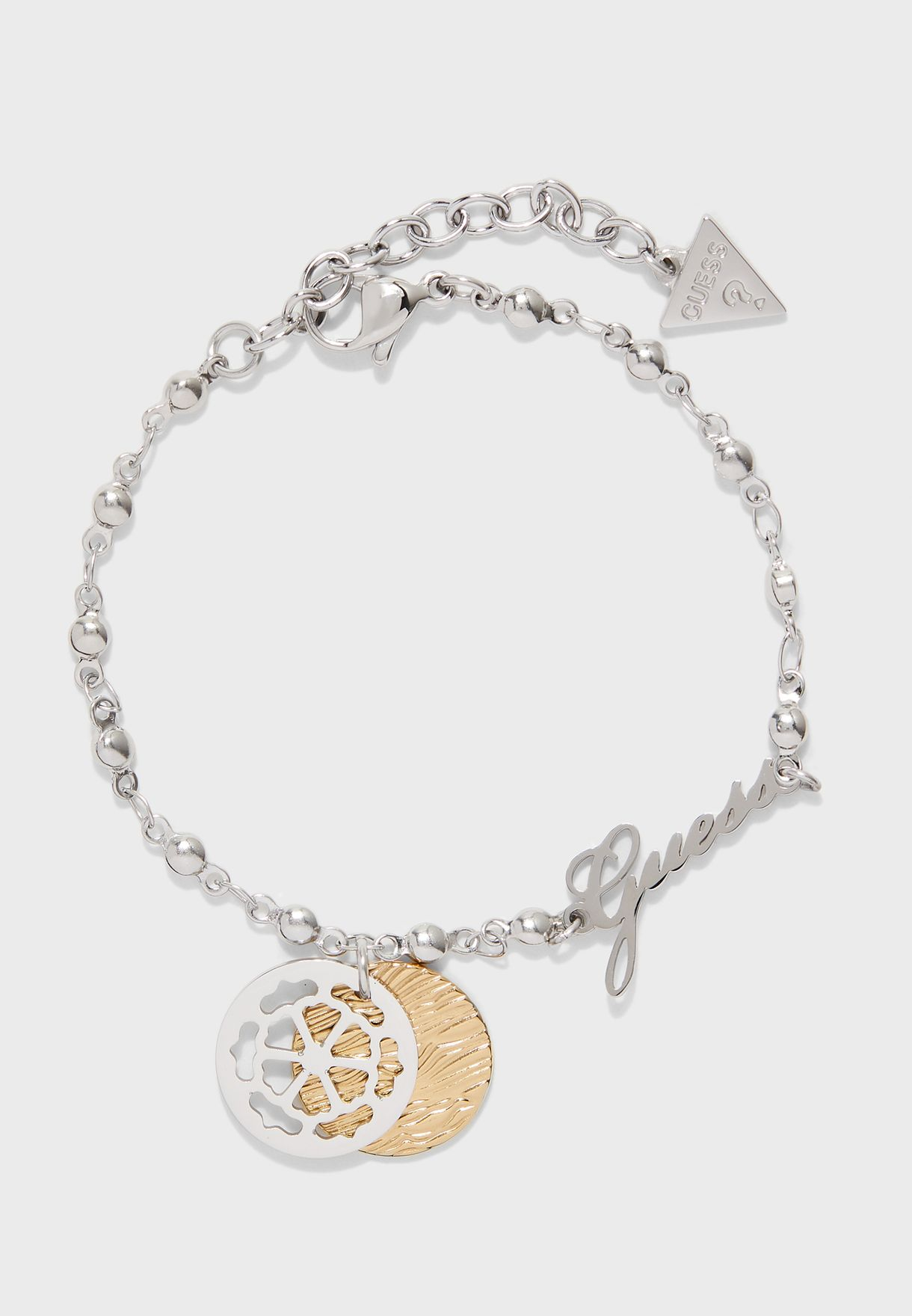 Chain And Double Coins Bracelet
