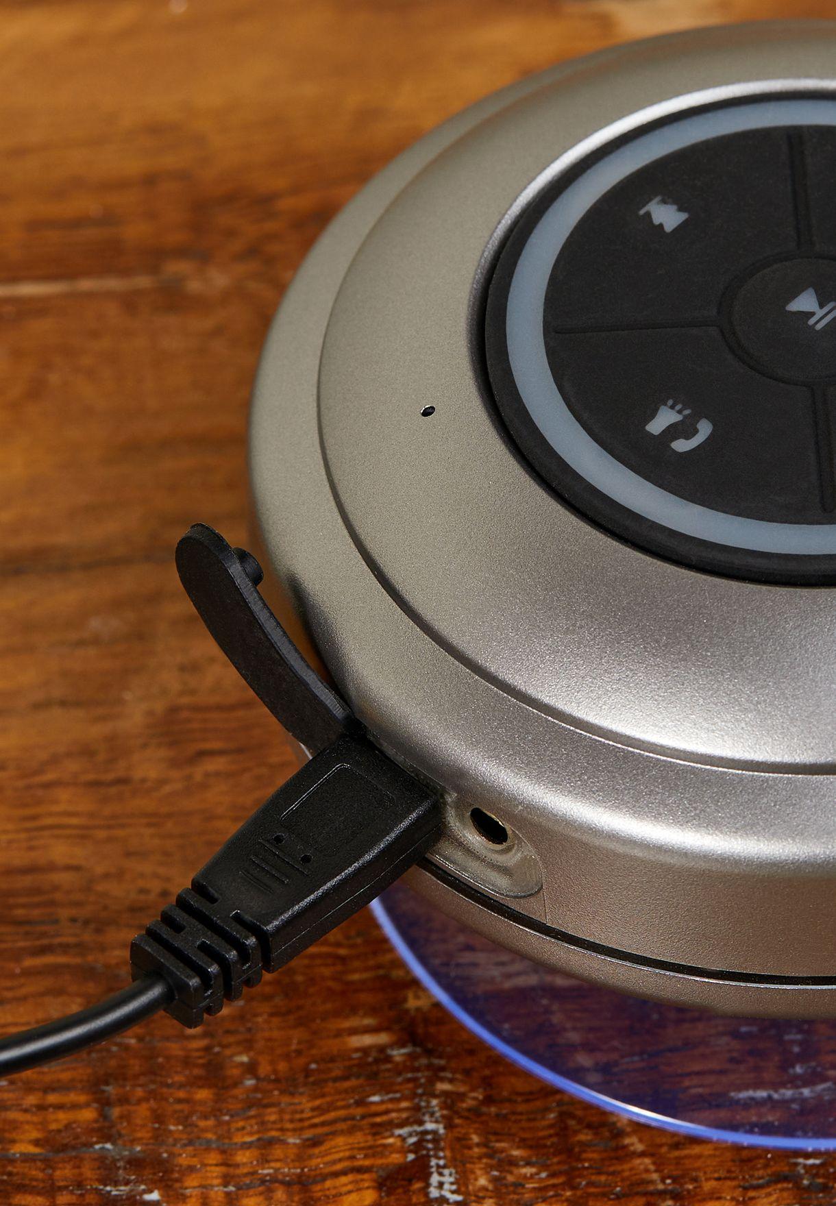 Charcoal Led Shower Speaker