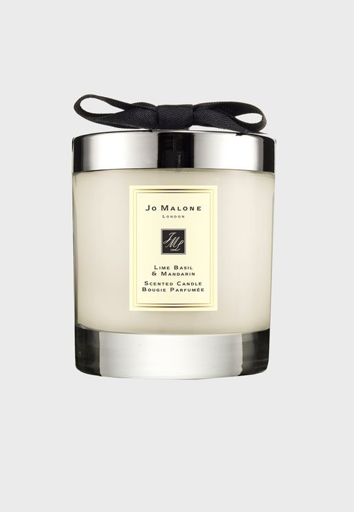 Lime Basil & Mandarin Home Candle