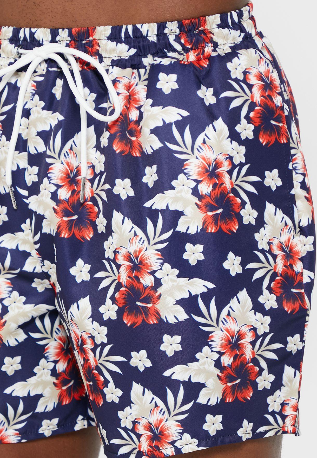 Floral Swimshort