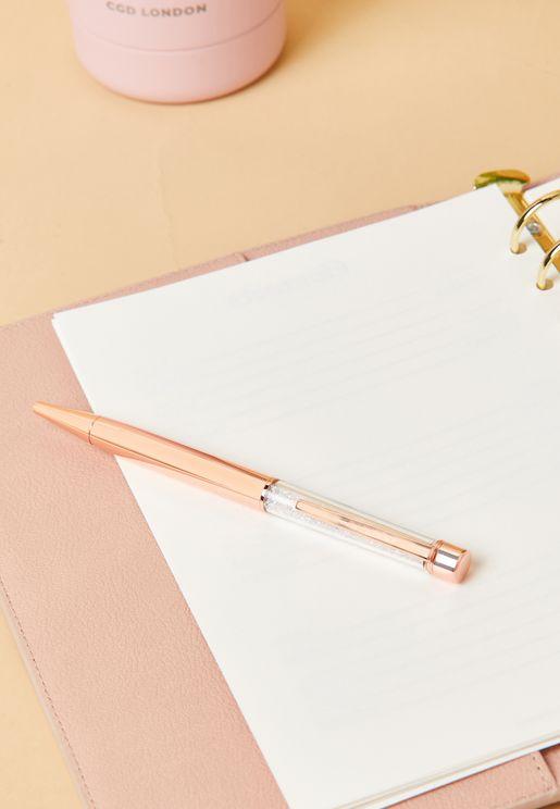 قلم مزين بالاحجار