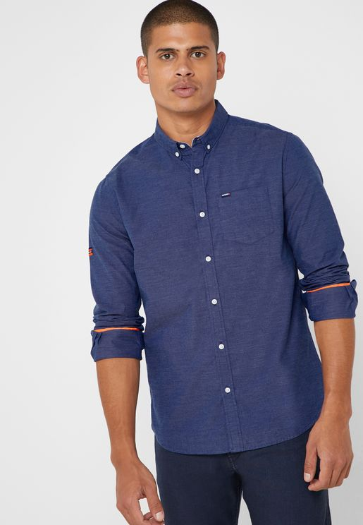 1956fe6a4ba Premium University Oxford Shirt. Superdry