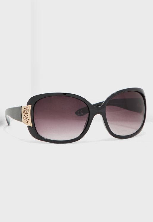 Philip Filigree Arm Detail Sunglasses
