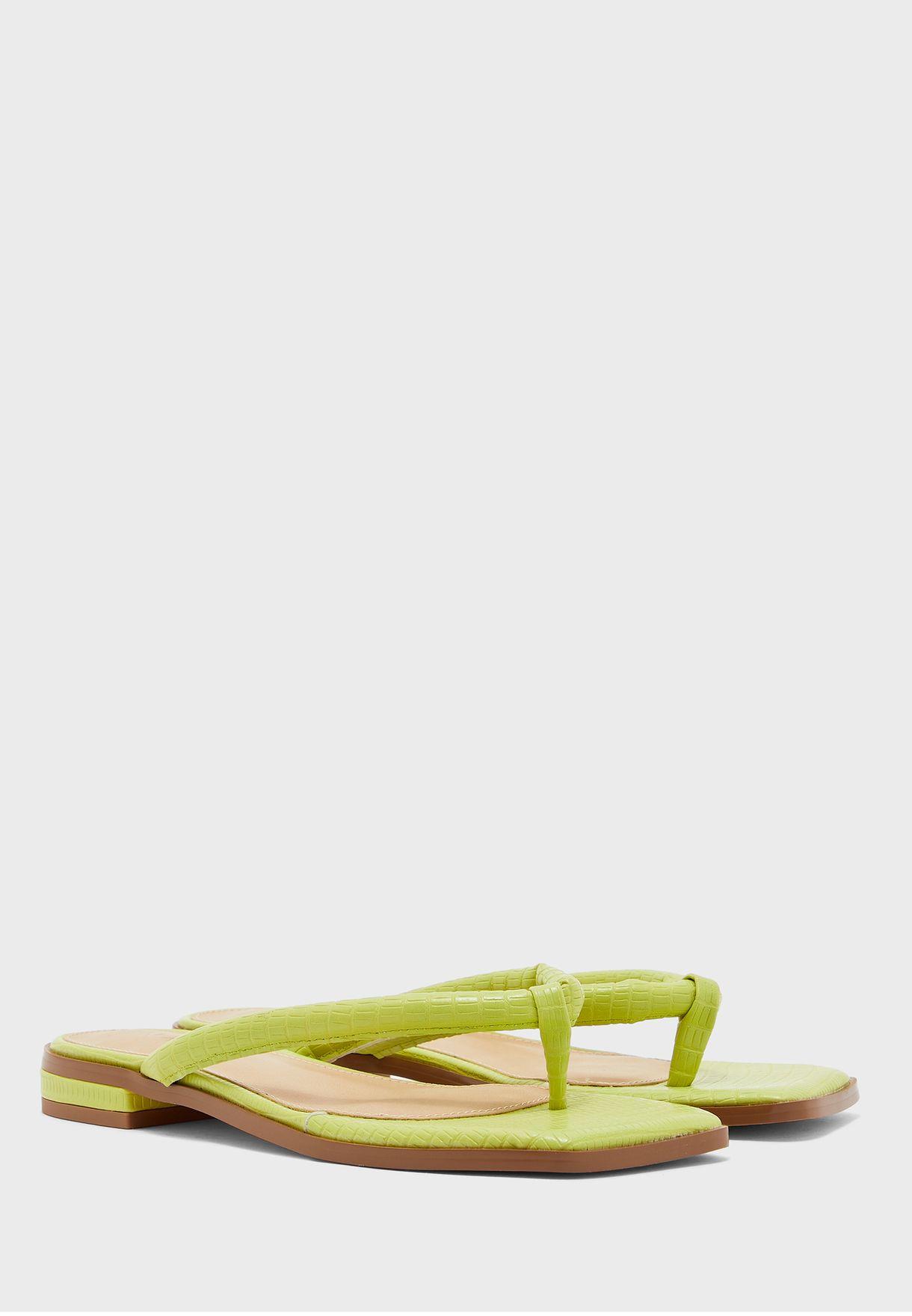 Padded Strap Flip Flops