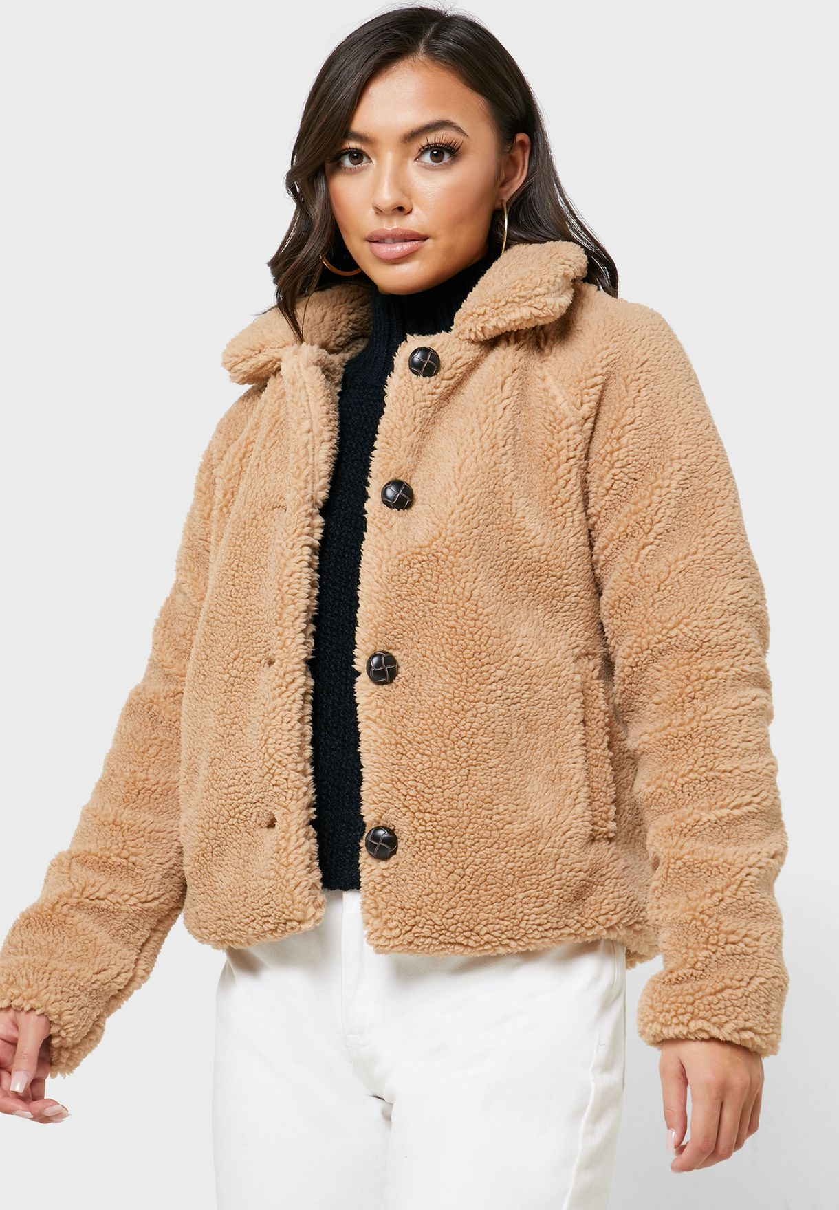 Fur Teddy Jacket