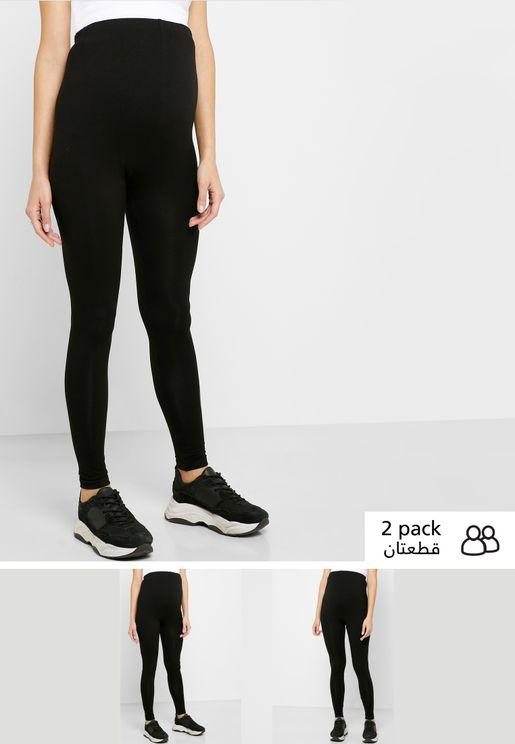 2 Pack High Waist Leggings