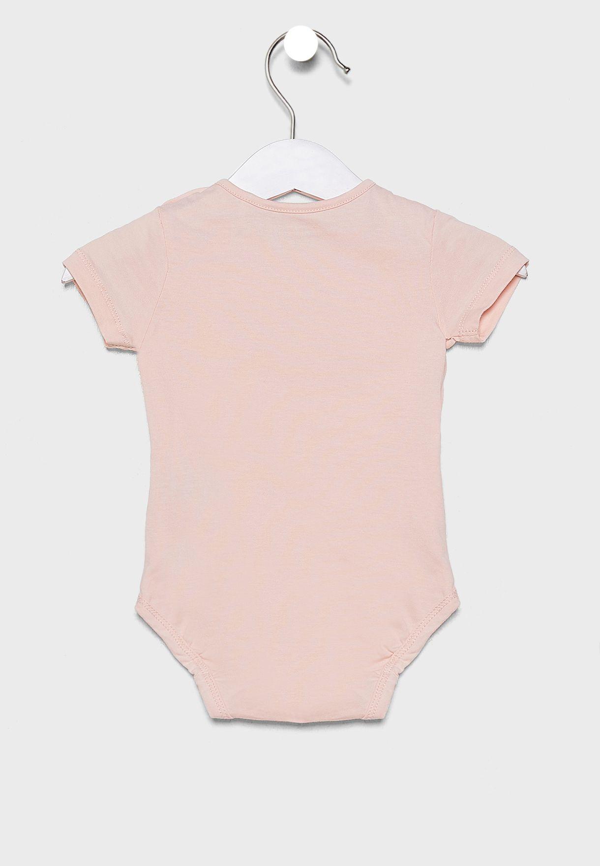 Infant just Happy Bodysuit