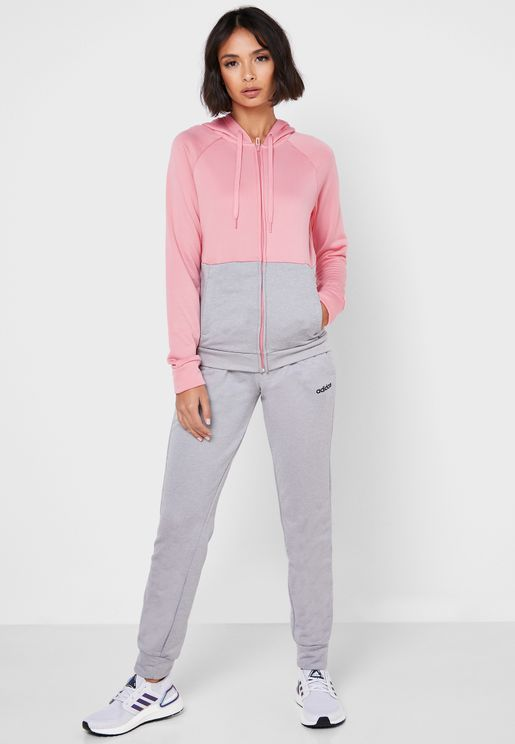 Linear Hooded Tracksuit