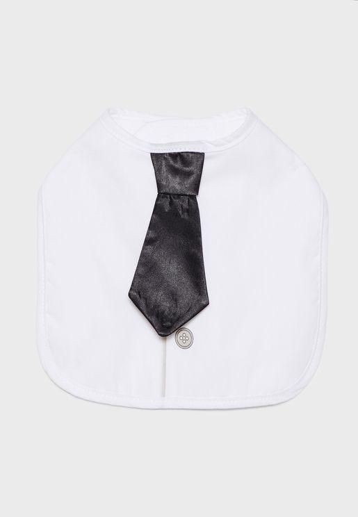 Gentleman Baby Tie Bib