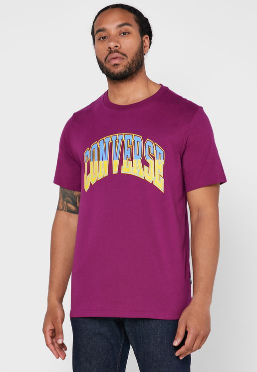 Twisted Varsity Graphic T-Shirt