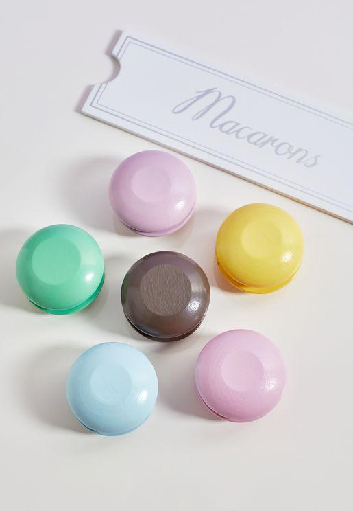 Wooden Macaron Set
