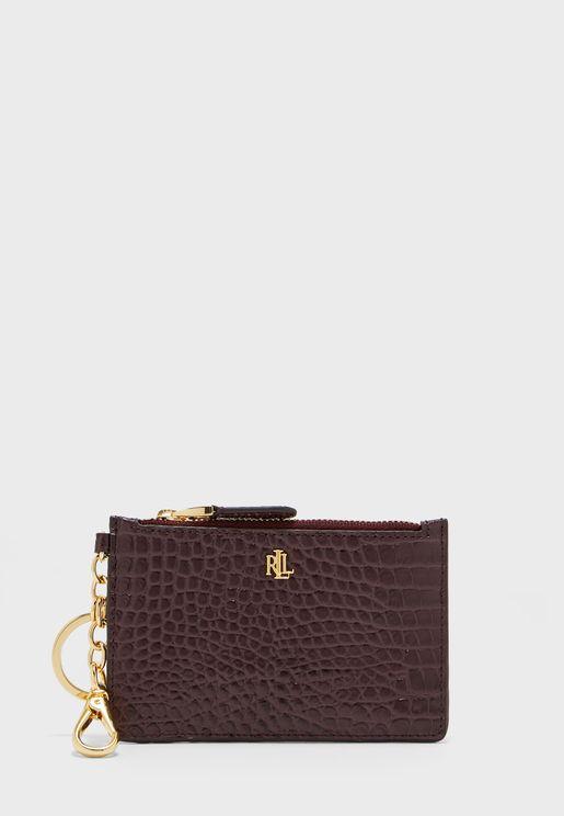 محفظة من جلد اصلي