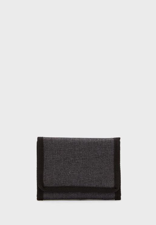 Tri Fold Leatherette Wallet