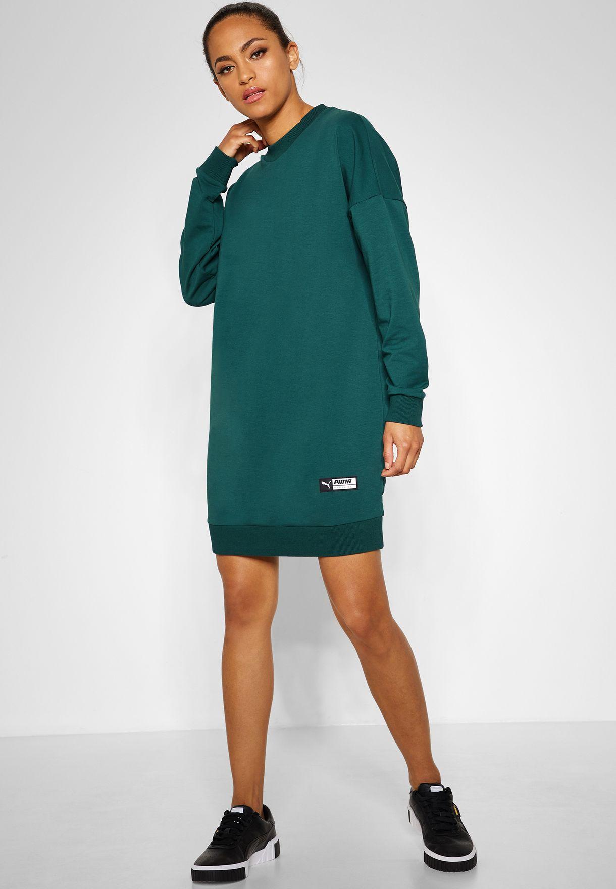 Puma Trailblazer Sweat Dress - Fashion