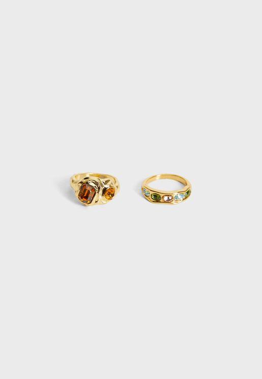 Carmina Rings Set